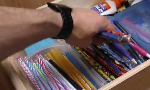 Εχετε παλιά μολύβια; Βγάλτε τα απ' το συρτάρι και δείτε τι μπορείτε να φτιάξετε (video)
