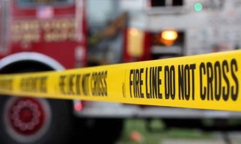 ΗΠΑ: Μεγάλη φωτιά από εκτροχιασμό εμπορικής αμαξοστοιχίας (vids)