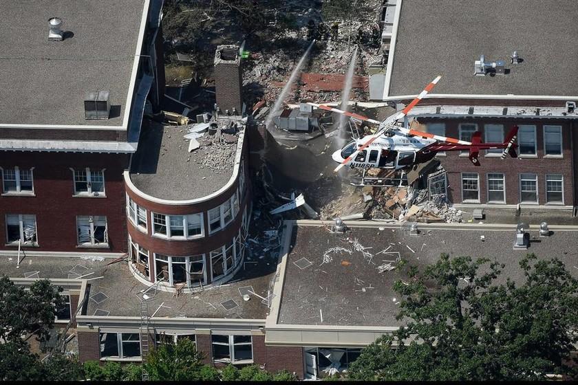 ΗΠΑ: Ισχυρή έκρηξη σε σχολείο στη Μινεσότα - Βομβαρδισμένο τοπίο λίγο μετά την έκρηξη (Pics+Vids)