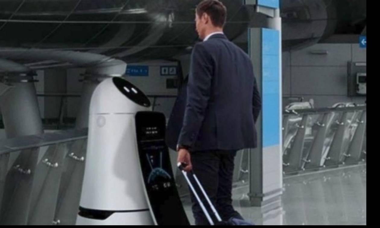 Ρομπότ – «υπάλληλοι» στο διεθνές αεροδρόμιο της Σεούλ