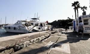 Σεισμός Κως: Ξεκίνησαν τα έργα αποκατάστασης στο λιμάνι της Κω