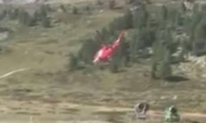 Τρεις νεκροί από συντριβή αεροπλάνου σε κατασκήνωση στην Ελβετία (vid)