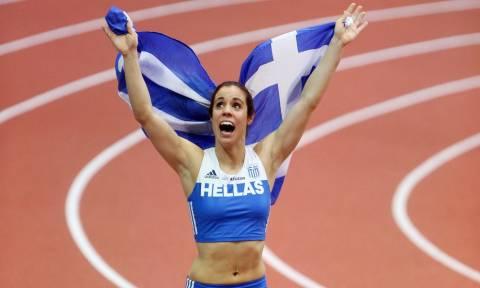Παγκόσμια πρωταθλήτρια στο άλμα επί κοντώ η Στεφανίδη