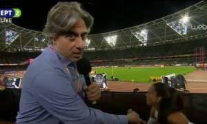 Ειρήνη Βασιλείου: Κατέρρευσε «στον αέρα» της ΕΡΤ η Ελληνίδα πρωταθλήτρια - Δείτε το βίντεο