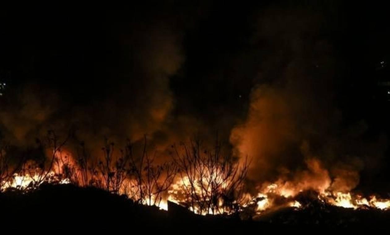 Φωτιά: Σε εξέλιξη πυρκαγιές στα Αμπέλια και τη Ρίγανη Αιτωλοακαρνανίας