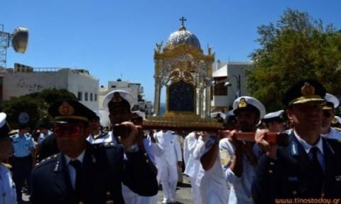 Κυκλοφοριακές ρυθμίσεις στην Τήνο κατά τον εορτασμό της Κοιμήσεως της Θεοτόκου