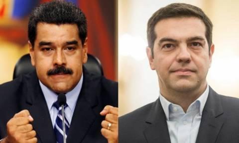Politico: Σκληροπυρηνικός υποστηρικτής του Μαδούρο ο Τσίπρας