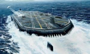 Ασύλληπτο! Αυτό είναι το υπερ-αεροπλανοφόρο που ετοιμάζει η Ρωσία