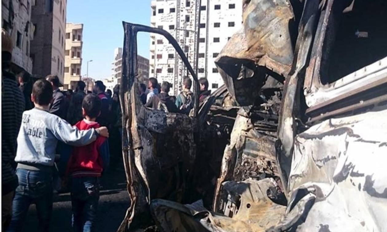 Συρία: Τουλάχιστον 23 νεκροί από επίθεση καμικάζι σε στρατόπεδο ανταρτών
