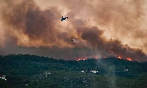 Συναγερμός στην Ζάκυνθο για τις πυρκαγιές: «Πρόκειται για μη φυσιολογική κατάσταση»