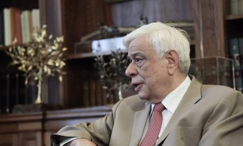 Παυλόπουλος: Οι Έλληνες είμαστε έτοιμοι να υπερασπισθούμε την κυριαρχία της πατρίδας μας