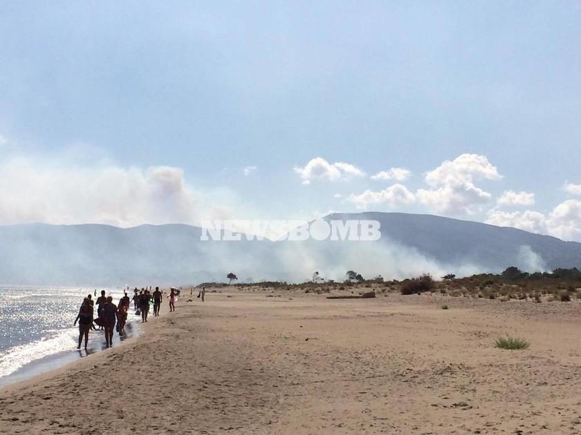 ΕΚΤΑΚΤΟ - Φωτιά Ζάκυνθος: Νέο πύρινο μέτωπο στο χωριό Καλαμάκι