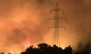 Φωτιά Κάλαμος: Αίτημα να κηρυχθεί ο Δήμος Ωρωπού σε κατάσταση έκτακτης ανάγκης
