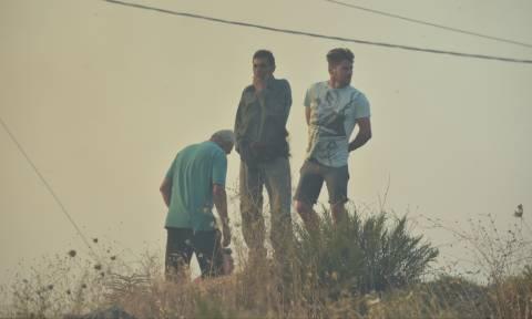 Φωτιά Κάλαμος: Ασφαλής ο άνθρωπος που αγνοούνταν στον Βαρνάβα