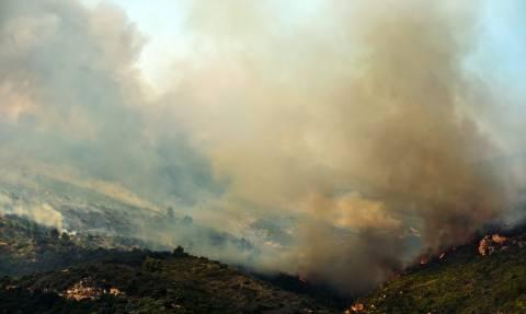 Συγκλονιστική φωτογραφία: Οι καπνοί από τις πυρκαγιές έφτασαν μέχρι την Κρήτη!
