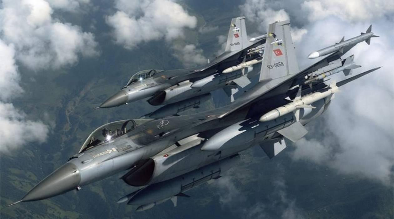 Μπαράζ παραβιάσεων από τουρκικά μαχητικά στο Αιγαίο