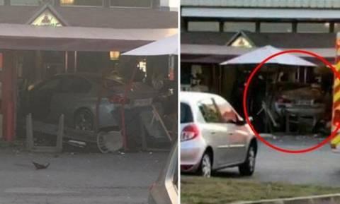 Επίθεση με αμάξι σε πιτσαρία στη Γαλλία: Τι γνωρίζουμε μέχρι στιγμής (Pics+Vid)