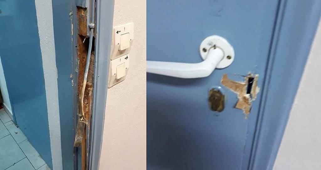 Σαντορίνη: Περίεργη υπόθεση διάρρηξης στο δημαρχείο Θήρας (pics)