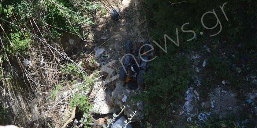 Ζάκυνθος: Τουρίστρια έπεσε με «γουρούνα» από ύψος 20 μέτρων μπροστά στα μάτια του φίλου της (pic)