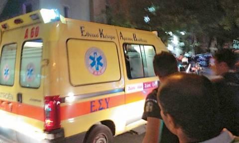 Τροχαίο δυστύχημα στην Κατεχάκη