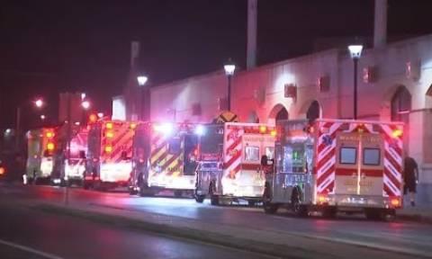 ΗΠΑ: 33 τραυματίες από σύγκρουση τρένων στη Φιλαδέλφεια (vid)