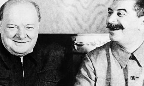 Στο «σφυρί» πορτρέτο του Τσόρτσιλ που θα χάριζε στον Ιωσήφ Στάλιν!