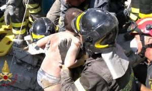Σεισμός Ιταλία: Συγκλονίζει ο 11χρονος που απεγκλωβίστηκε από τα ερείπια (vid)