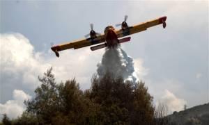 Σε ύφεση η πυρκαγιά στη Ζάκυνθο