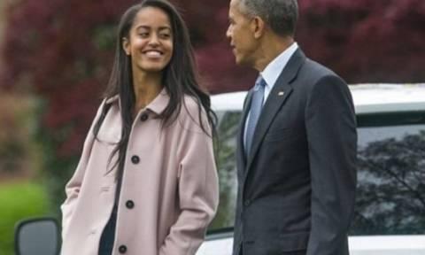 Φοιτήτρια στο Χάρβαρντ η Μάλια Ομπάμα!