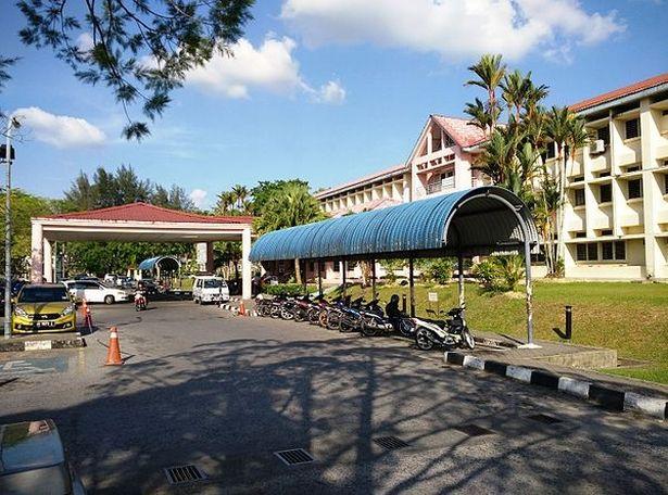 Sibu Hospital main building