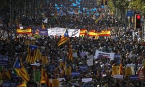 Διαδήλωση στη Βαρκελώνη κατά της τρομοκρατίας: «Δεν φοβόμαστε» (vid)