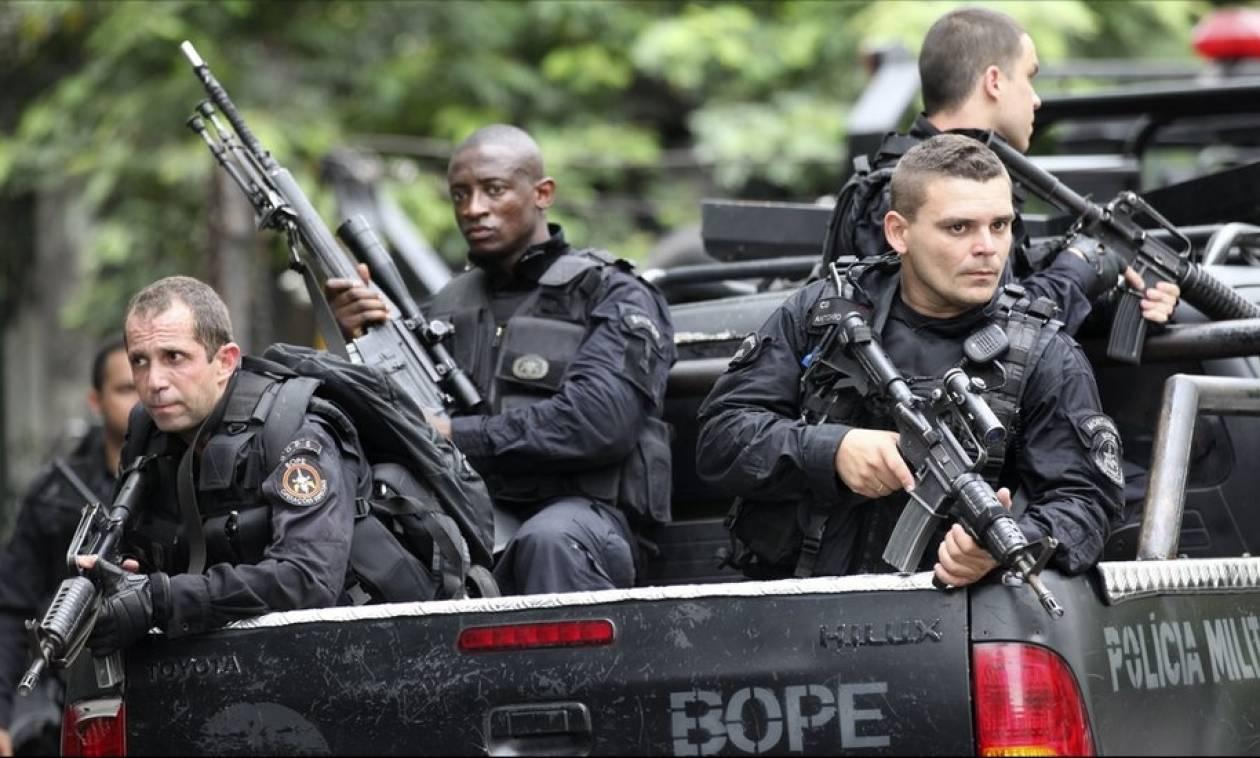 Η πιο βίαια πόλη στον κόσμο; Τους 100 έφθασαν οι νεκροί αστυνομικοί από την αρχή του έτους στο Ρίο