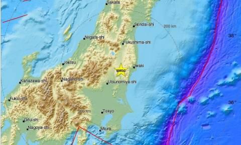 Ισχυρός σεισμός στην Ιαπωνία