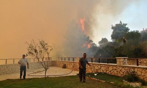 Φωτιά Ζάκυνθος - Η εικόνα σοκ που θα μείνει στην Ιστορία: Έτσι φαίνεται η πυρκαγιά από την Κεφαλονιά