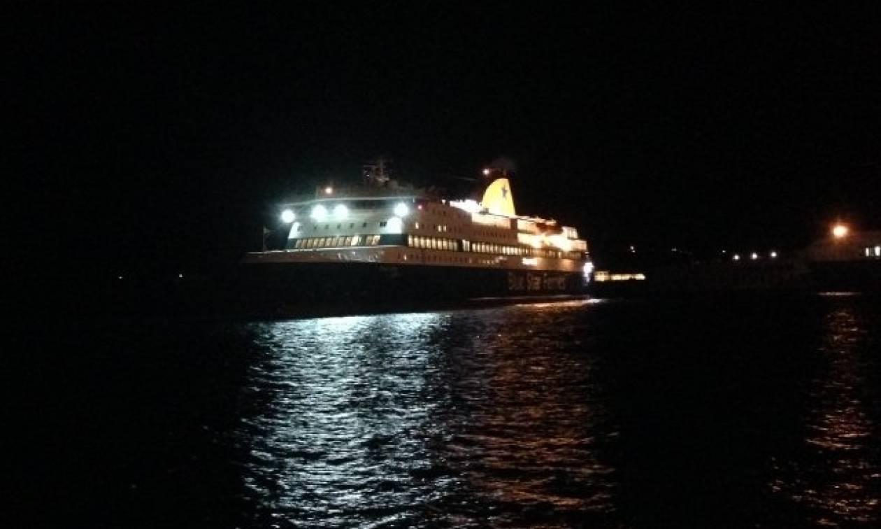 Το Blue Star Patmos με 205 επιβάτες προσάραξε σε αβαθή νερά στην Ίο: Τι γνωρίζουμε μέχρι στιγμής