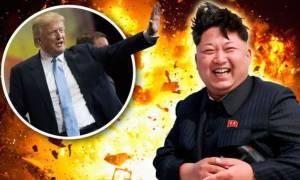 Σειρήνες πολέμου - Τραμπ σε Κιμ Γιονγκ Ουν: Τα λόγια τελείωσαν!
