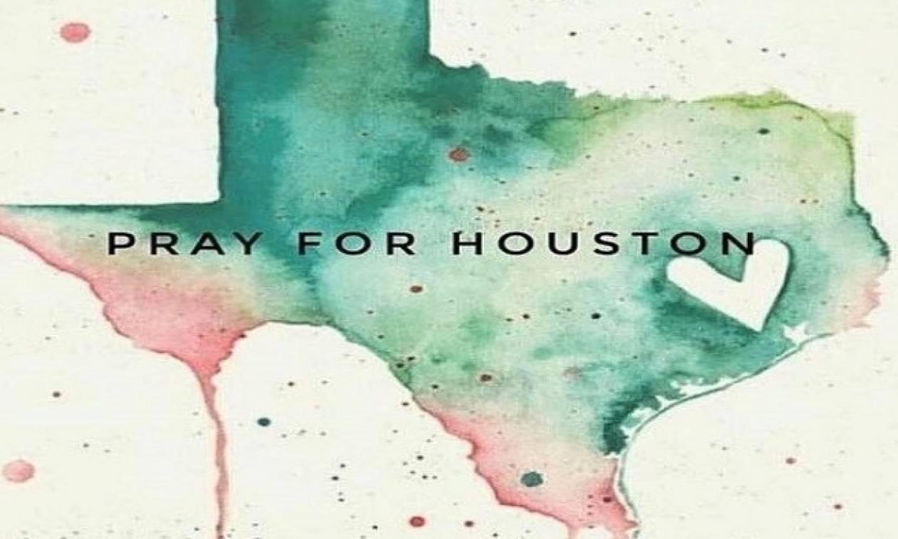 Κωνσταντινίδου: «Προσεύχομαι για τους πληγέντες του Χάρβεϊ (fotos)»