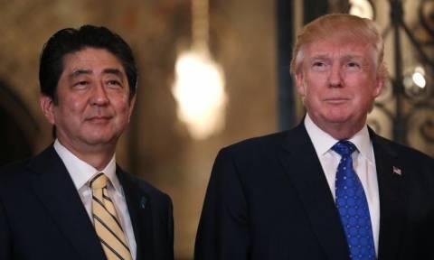 ΗΠΑ και Ιαπωνία συμφώνησαν σε κοινή γραμμή εναντίον της Βόρειας Κορέας