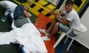Τι έγινε με τον Άγγλο ασθενή στους Παξούς και τη μεταφορά του στο γκαράζ πλοίου για Ηγουμενίτσα