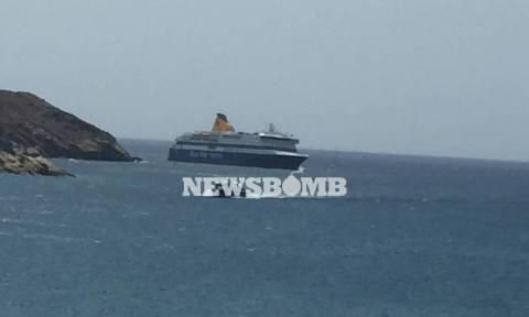 Μαρτυρία – σοκ: Το ρήγμα στο Blue Star Patmos είναι τόσο μεγάλο που φαίνονται μέχρι και οι σκάλες