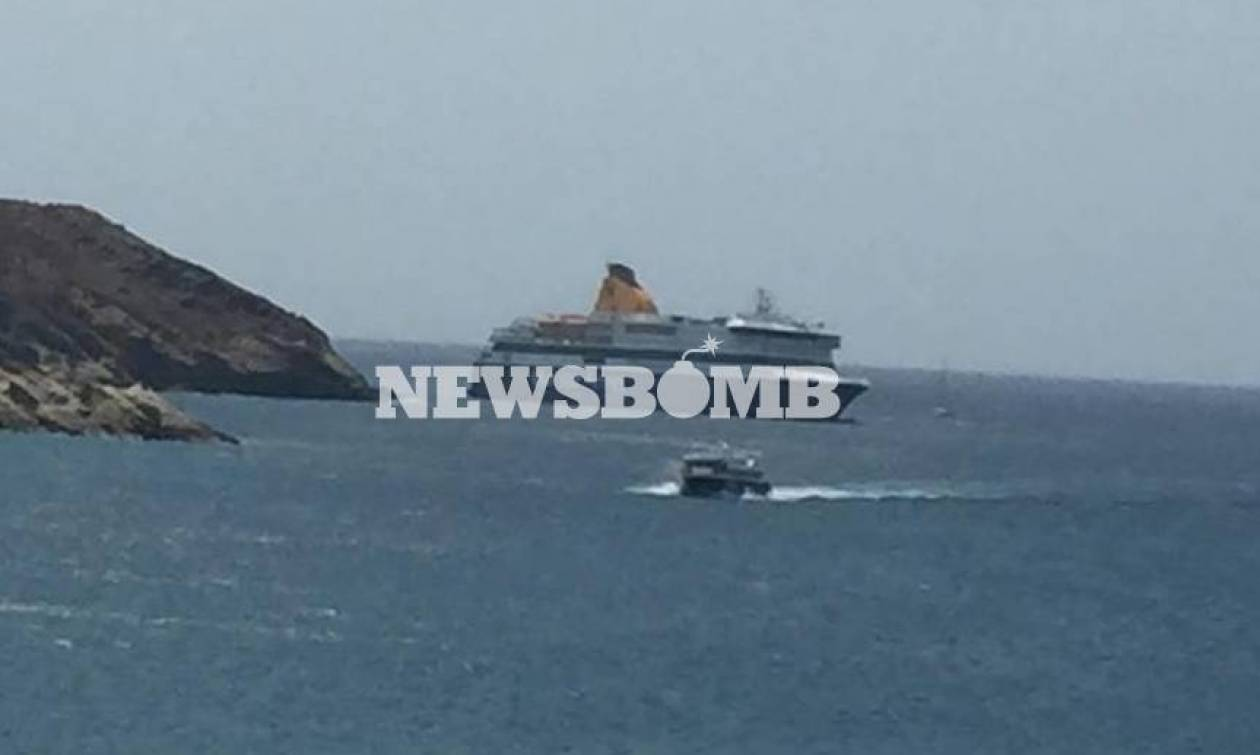 Blue Star Patmos: Σήμερα η επιχείρηση αποκόλλησης του πλοίου από την ξέρα
