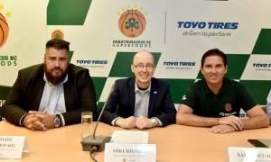ΚΑΕ Παναθηναϊκός Superfoods και Toyo Tires παρουσίασαν τη συνεργασία τους