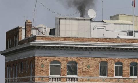 Μυστήριο με μαύρο καπνό από το προξενείο της Ρωσίας στο Σαν Φρανσίσκο (vid)