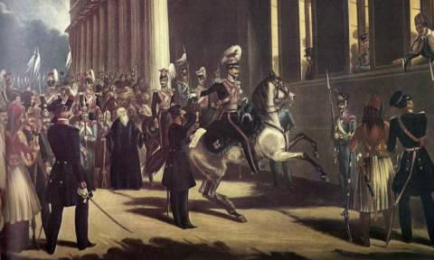 Σαν σήμερα το 1843 εκδηλώνεται η Επανάσταση της 3ης Σεπτεμβρίου