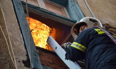 Θεσσαλονίκη: Φωτιά σε διαμέρισμα στον Εύοσμο