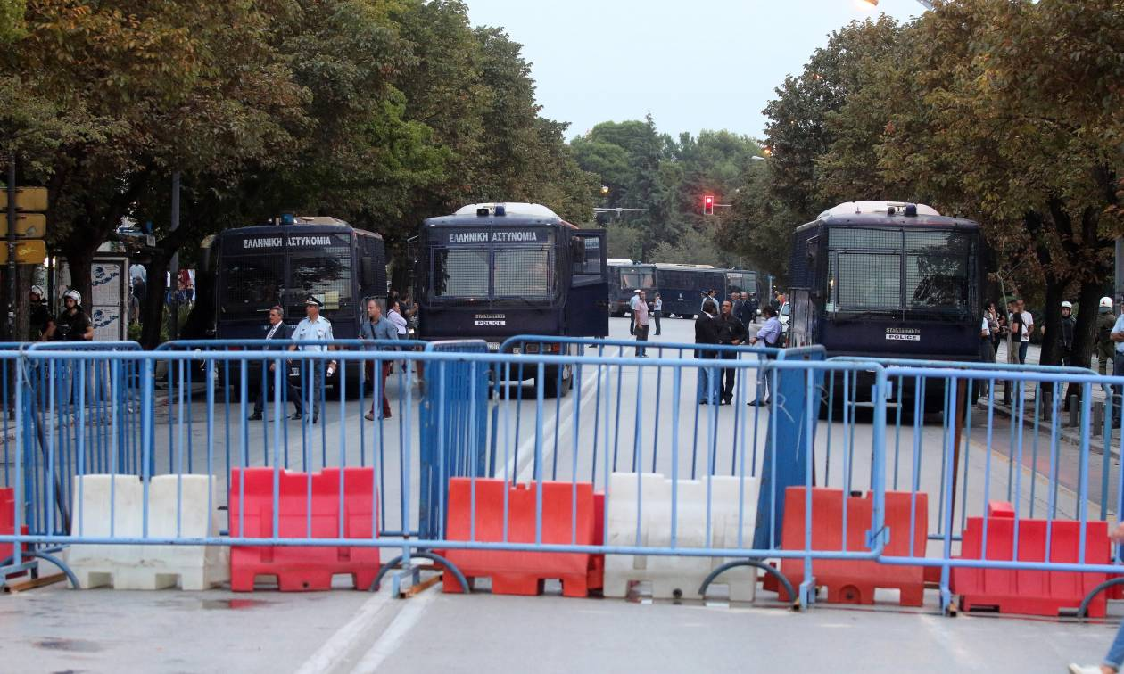 ΔΕΘ: «Αστακός» η Θεσσαλονίκη εν αναμονή του Τσίπρα - Τουλάχιστον 4.000 αστυνομικοί