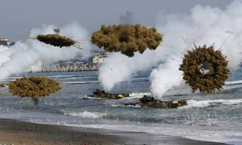 Η Νότια Κορέα διεξήγαγε ασκήσεις μετά τη νέα πυρηνική δοκιμή της Πιονγιάνγκ