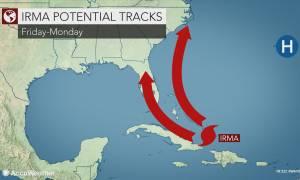 Ο κυκλώνας Ίρμα «σπέρνει» τον τρόμο στις ΗΠΑ