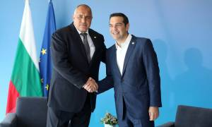 Τσίπρας και Μπορίσοφ υπογράφουν το μνημόνιο για τη σιδηροδρομική σύνδεση Ελλάδας - Βουλγαρίας