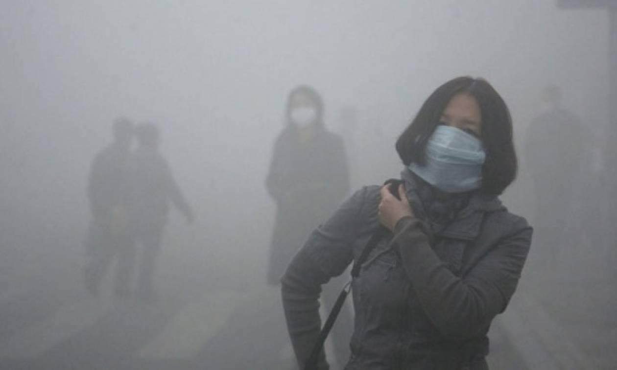 «Υποδέχτηκαν» νωρίτερα το χειμερινό νέφος στο Πεκίνο